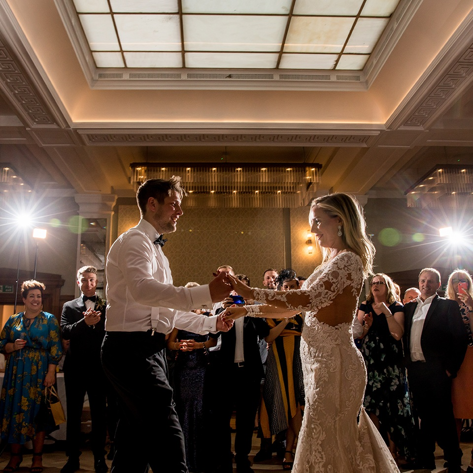 First dance in The Blencowe Room