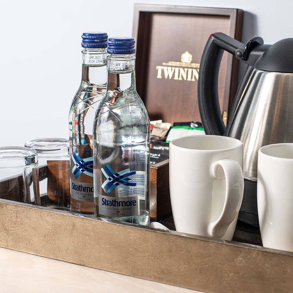guest accommodation tea and coffee making facilities